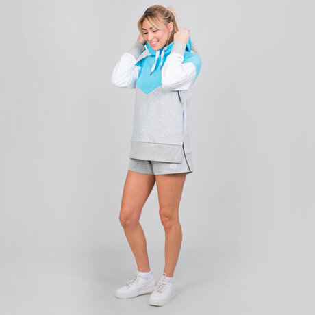 Суитшърт Flavia Lifestyle Hoody - aqua/light