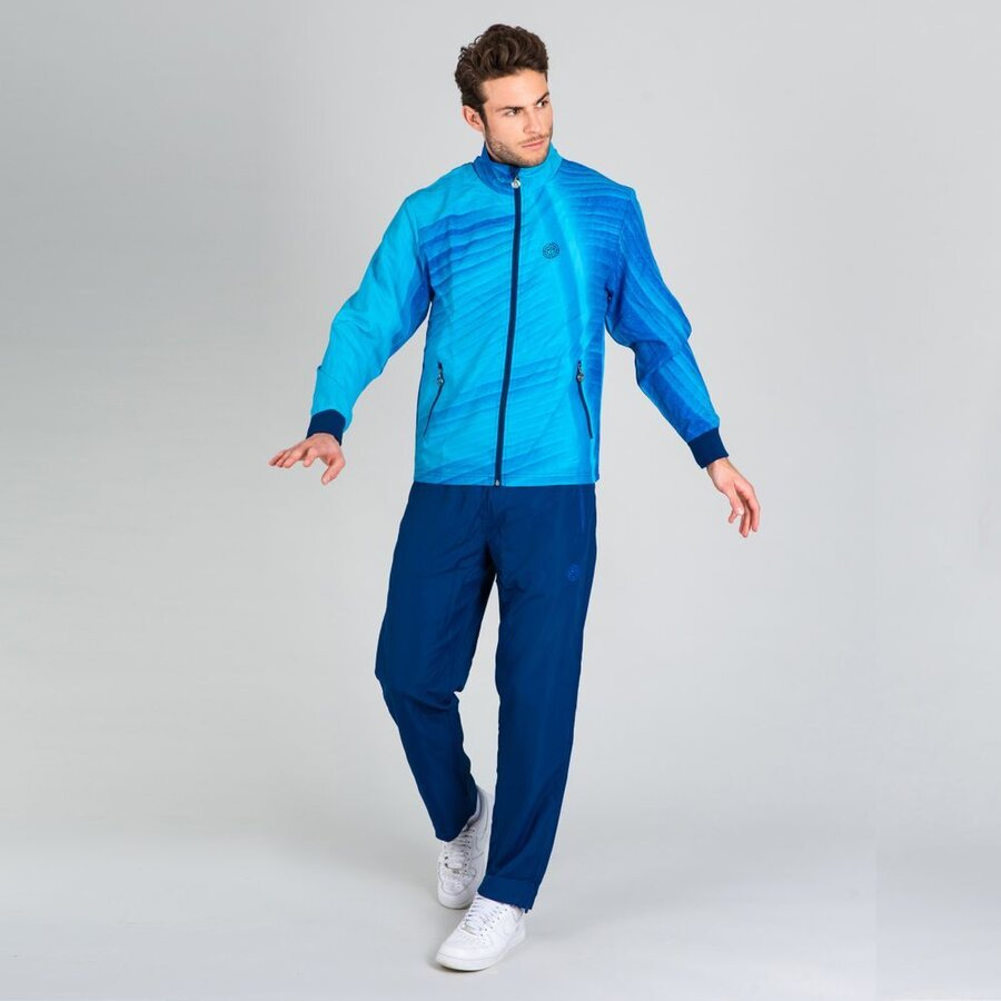 Спортен екип Billal Tech Tracksuit - aqua dark blue
