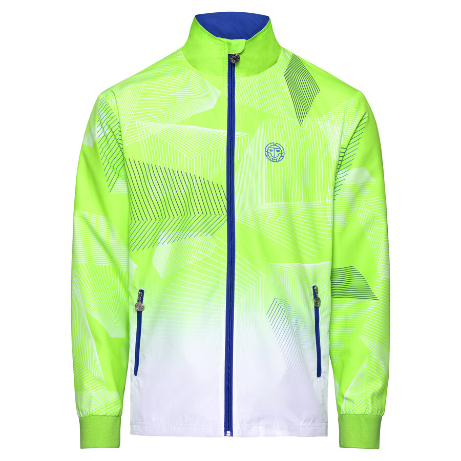 Спортно горнище Aton Tech Jacket - dark blue neon green