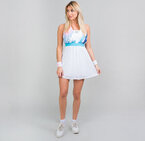 Рокля Ankea Tech Dress (2 In 1) - white/aqua
